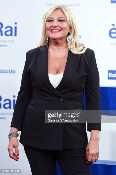 Monica Setta attends the Rai Show Schedule presentation on July 09 2019 in Milan Italy