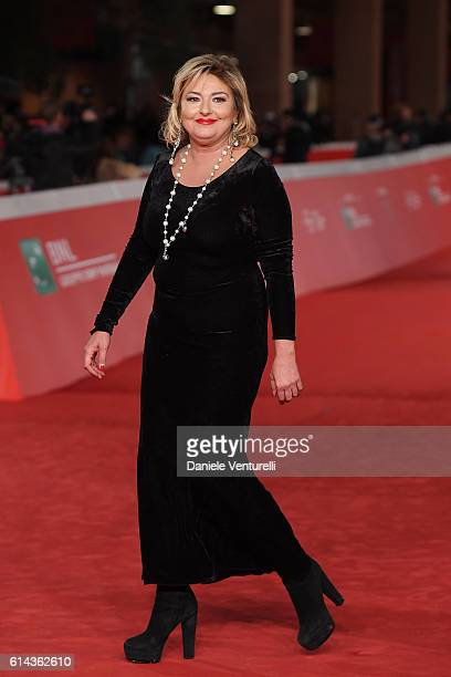 Monica Setta walks a red carpet for 'Moonlight' on October 13 2016 in Rome Italy
