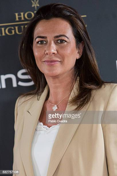Monica Silva attends the 'Live in Colors' photocall during the InStyle Beauty Day at the Miguel Angel Hotel Garden on May 19 2016 in Madrid Spain