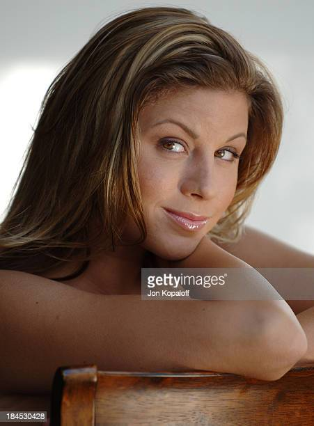 Monica Sweetheart during Monica Sweetheart Portrait Session at Private Residence in Los Angeles California United States