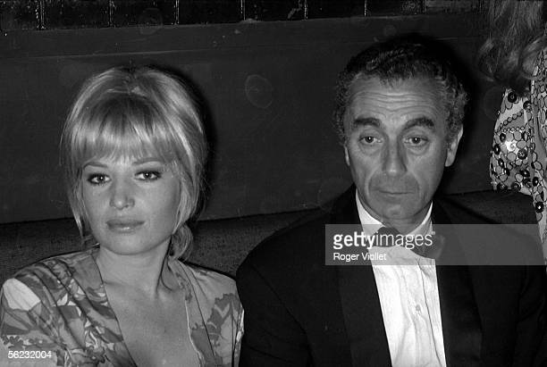 Monica Vitti Italian actress and Michelangelo Antonioni Italian filmmaker Cannes Film Festival 1965 HA2181