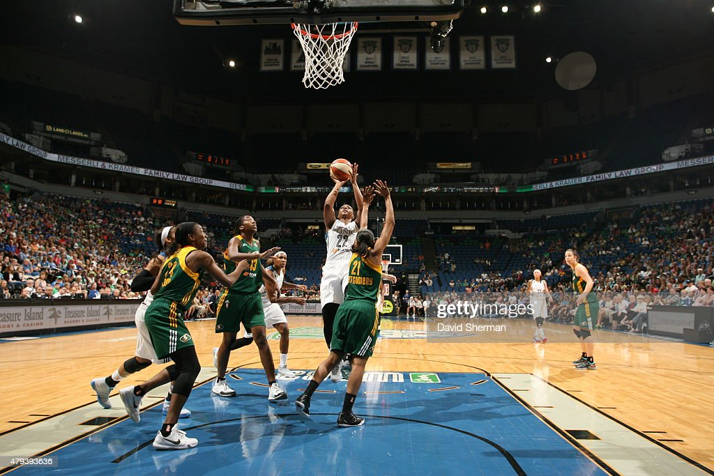 Seattle Storm v Minnesota Lynx