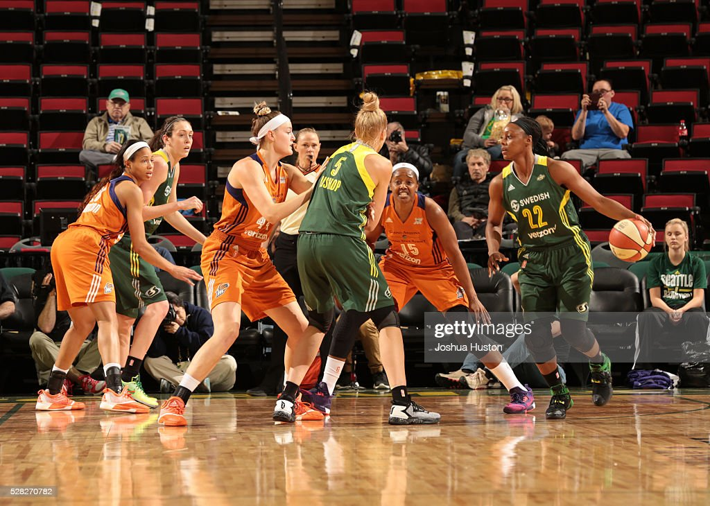 Phoenix Mercury v Seattle Storm