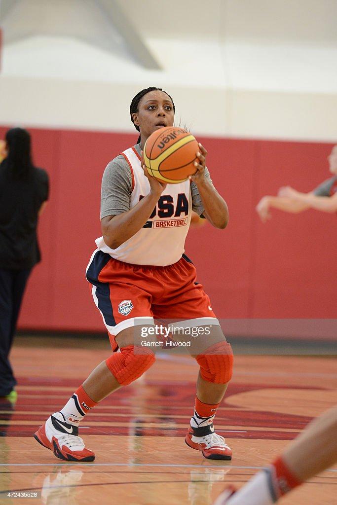 USA Basketball Women's National Team training camp