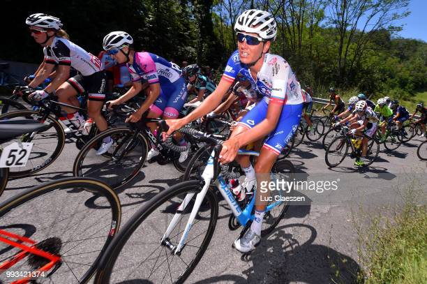 Moniek Tenniglo of The Netherlands and Team FDJ Nouvelle Aquitaine Futuroscope / during the 29th Tour of Italy 2018 Women Stage 2 a 1203km stage from...