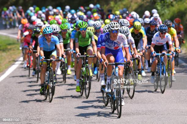 Moniek Tenniglo of The Netherlands and Team FDJ Nouvelle Aquitaine Futuroscope / during the 29th Tour of Italy 2018 Women Stage 4 a 109km stage from...