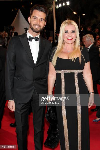 """Monika Bacardi and Andrea Iervolino attends the """"Captives"""" premiere during the 67th Annual Cannes Film Festival on May 16, 2014 in Cannes, France."""