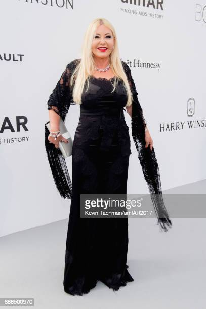Monika Bacardi arrives at the amfAR Gala Cannes 2017 at Hotel du CapEdenRoc on May 25 2017 in Cap d'Antibes France