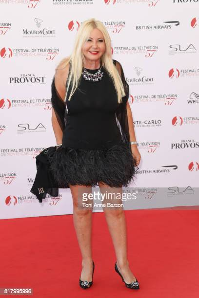 Monika Bacardi arrives at the Opening Ceremony of the 57th Monte Carlo TV Festival and World premier of Absentia Serie on June 16 2017 in MonteCarlo...