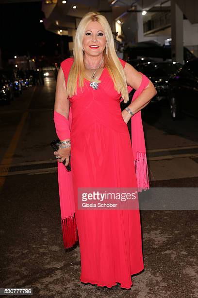 Monika Bacardi arrives at the Opening Gala Dinner during The 69th Annual Cannes Film Festival on May 11 2016 in Cannes France