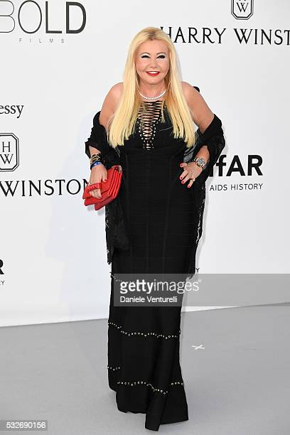 Monika Bacardi attends the amfAR's 23rd Cinema Against AIDS Gala at Hotel du CapEdenRoc on May 19 2016 in Cap d'Antibes France