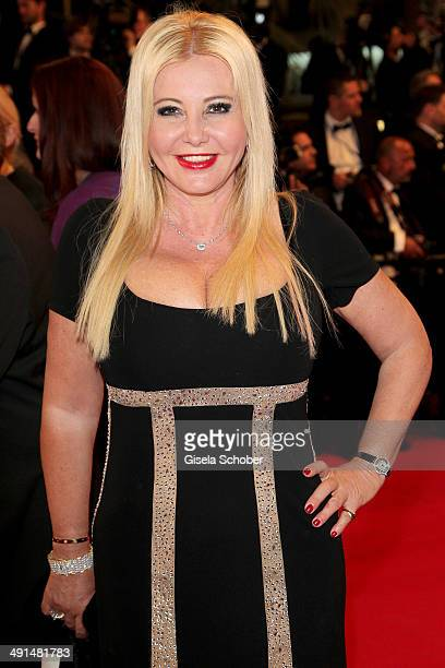"""Monika Bacardi attends the """"Captives"""" premiere during the 67th Annual Cannes Film Festival on May 16, 2014 in Cannes, France."""
