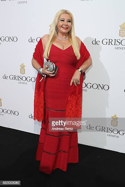 Monika Bacardi attends the De Grisogono Party during the annual 69th Cannes Film Festival at Hotel du CapEdenRoc on May 17 2016 in Cap d'Antibes...