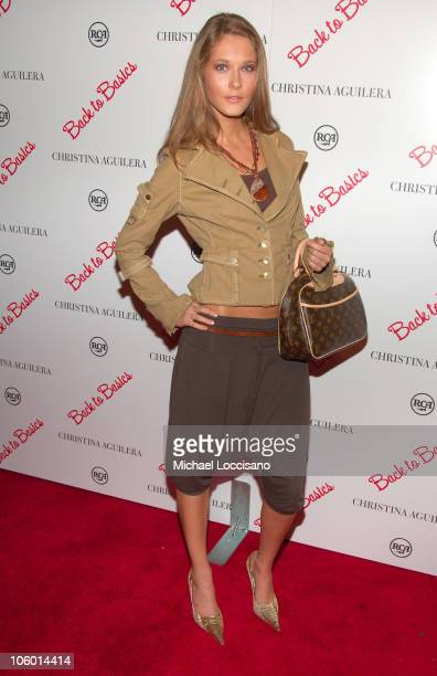 Monika during Christina Aguilera's NYC Album Release Party August 15 2006 at Marquee in New York City New York United States
