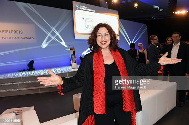 Monika Griefahn attends the German Computer Games Award 2014 at Postpalast on May 15 2014 in Munich Germany