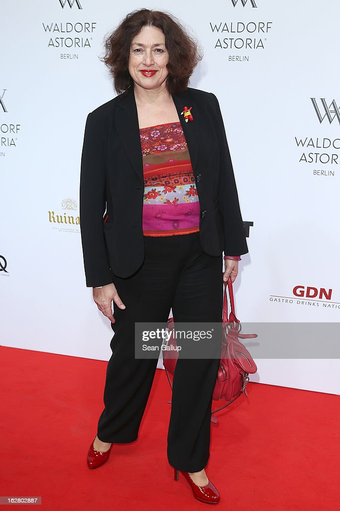 Monika Griefahn attends 'Waldorf Astoria Berlin Grand Opening' at Waldorf Astoria Berlin on February 27, 2013 in Berlin, Germany.