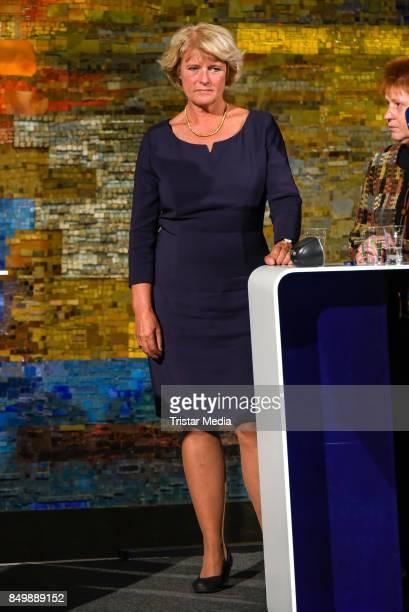 Monika Gruetters during the live TV program 'Ihre Wahl 6 Frauen für Berlin und Brandenburg' on September 19 2017 in Berlin Germany