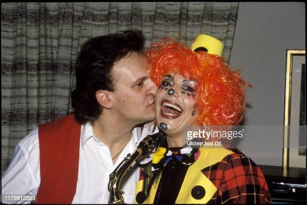 Monika Kaelin and Brunner carnival costume 1987