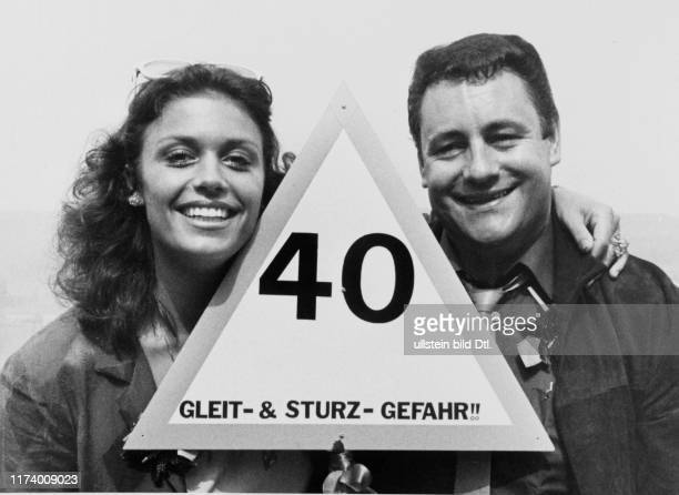 Monika Kaelin and Carlo Sommacal 1981
