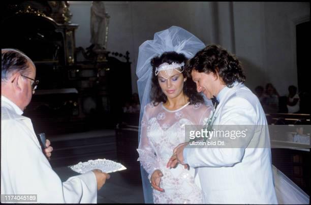 Monika Kaelin und Fritz Künzli heiraten 1985