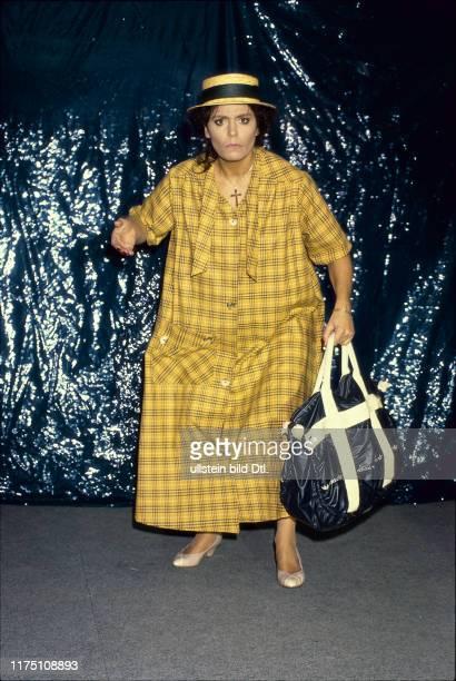 Monika Kaelin verkleidet 1989