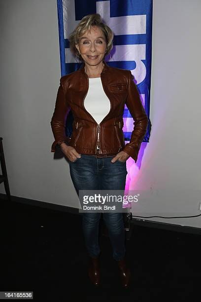 Monika Peitsch attends the Ndf Afterwork Party at 8 Seasons on March 20 2013 in Munich Germany