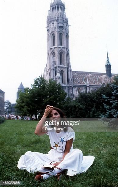 Monika Peitsch ZDFWeihnachtsvierteiler Mathias Sandorf am in Budapest Ungarn