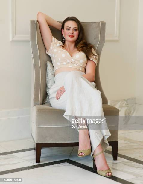 Monika Radulovic attends the LaurentPerrier Champagne High Tea at The Langham on September 19 2018 in Sydney Australia
