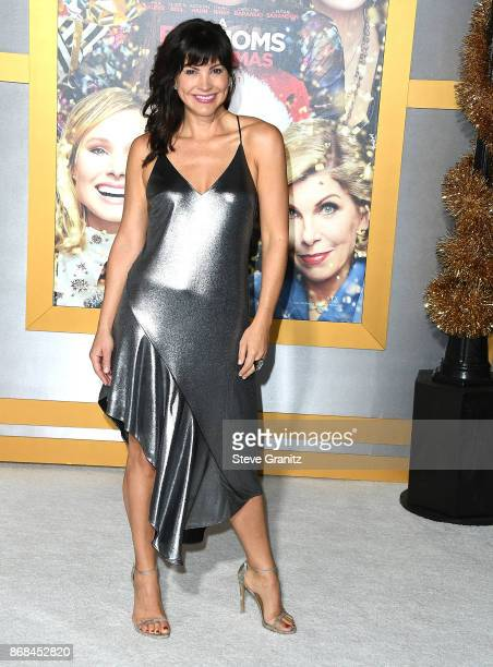 Moniqua Plante arrives at the Premiere Of STX Entertainment's 'A Bad Moms Christmas' at Regency Village Theatre on October 30 2017 in Westwood...