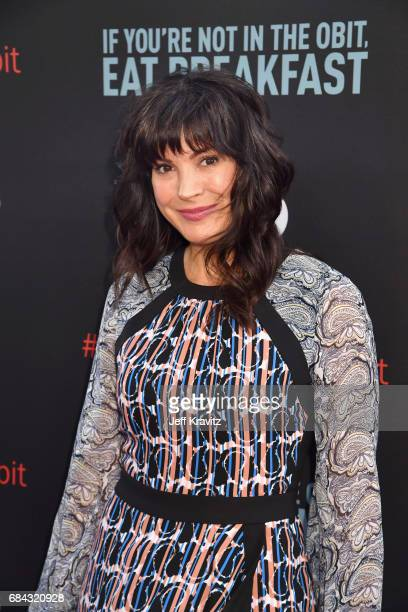 Moniqua Plante at the LA Premiere of If You're Not In The Obit Eat Breakfast from HBO Documentaries on May 17 2017 in Beverly Hills California