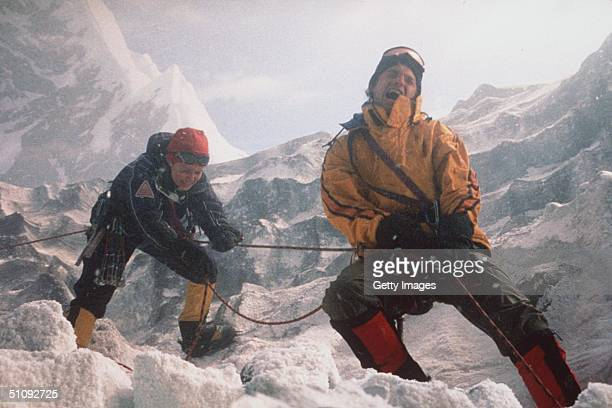 Monique And Peter Garrett Struggle Against The Unforgiving Terrain Of K2 The World's Second Tallest Mountain To Save Peter's Sister And Her Summit...