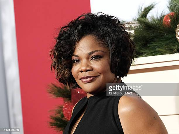 Mo'Nique attends the premiere of Almost Christmas at the Regency Village theatre in Westwood California on November 3 2016 / AFP / CHRIS DELMAS