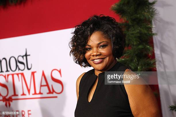 Mo'Nique attends the premiere of Universal's 'Almost Christmas' at Regency Village Theatre on November 3 2016 in Westwood California