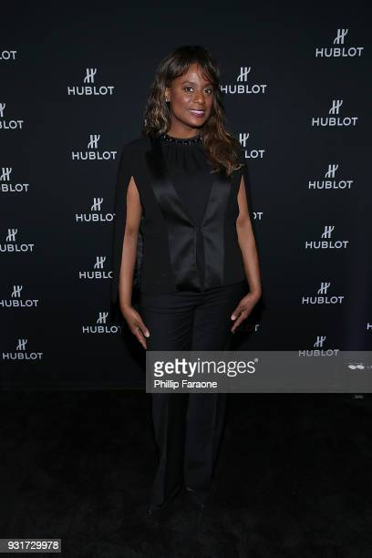 Monique Brown attends the Hublot Private Dinner with Edgar Ramirez at Waldorf Astoria Beverly Hills on March 13 2018 in Beverly Hills California