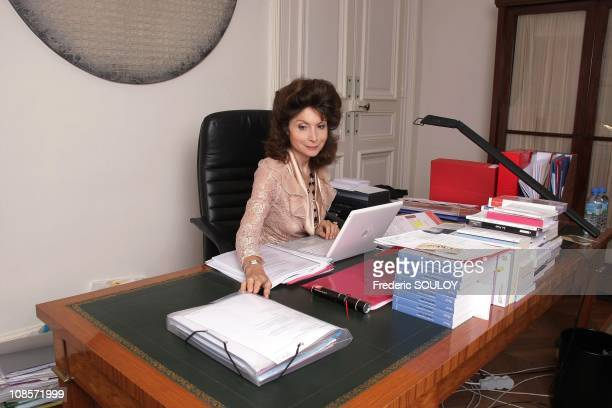 Monique CantoSperber Director of the College and CNRS research director in his office at the College She publishes with Rene Frydman at Plon her new...