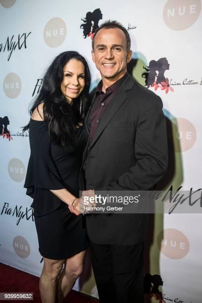 Monique Cinquanta and MattCinquanta attend Fia NyXX's album release party at The Mint on March 29, 2018 in Los Angeles, California.
