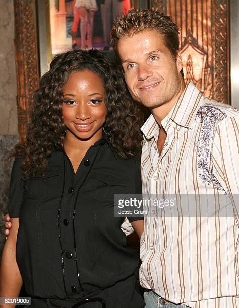 Monique Coleman and Louis van Amstel