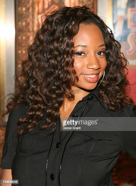 Monique Coleman at the Pantages Theatre in Hollywood California