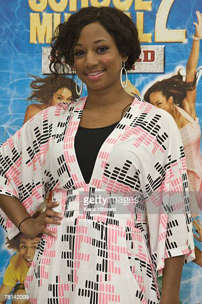 Monique Coleman attends a promotional tour for High School Musical at Chadstone Shopping Centre on November 29, 2007 in Melbourne, Australia.