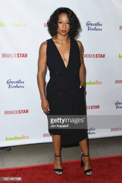 Monique Coleman attends premiere of Gravitas Ventures' 'Broken Star' at TCL Chinese 6 Theatres on July 18 2018 in Hollywood California