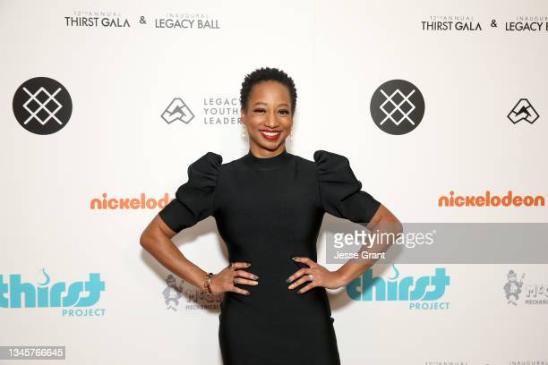 Monique Coleman attends the 12th Annual Thirst Gala & Inaugural Legacy Ball on October 09, 2021 in Azusa, California.
