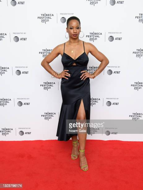 """Monique Coleman attends the """"Graceland"""" premiere at Pursuing Happiness during the 2021 Tribeca Festival at Brooklyn Commons at MetroTech on June 15,..."""