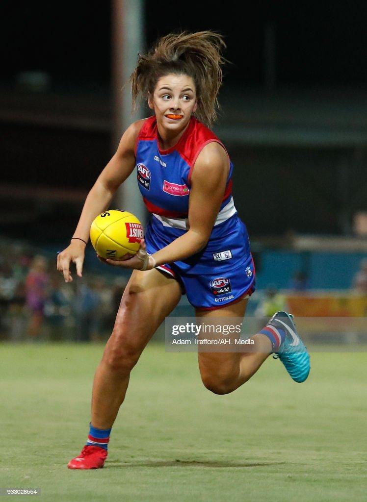 AFLW Rd 7 - Western Bulldogs v Melbourne : News Photo
