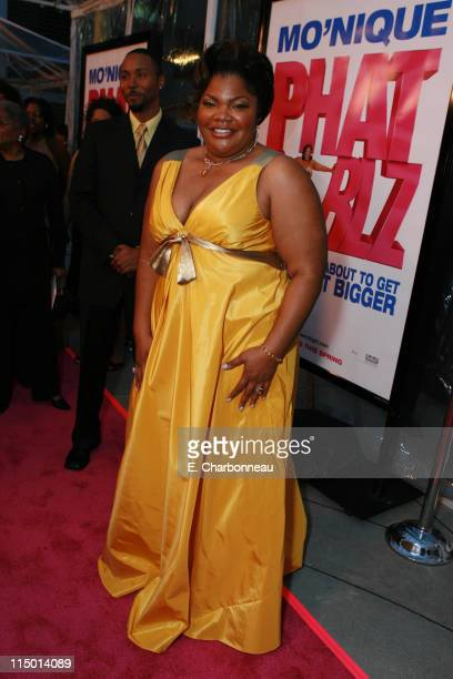 Mo'Nique during Fox Searchlight Pictures Presents Phat Girlz Los Angeles Premiere at Archlight Cinemas in Hollywood California United States