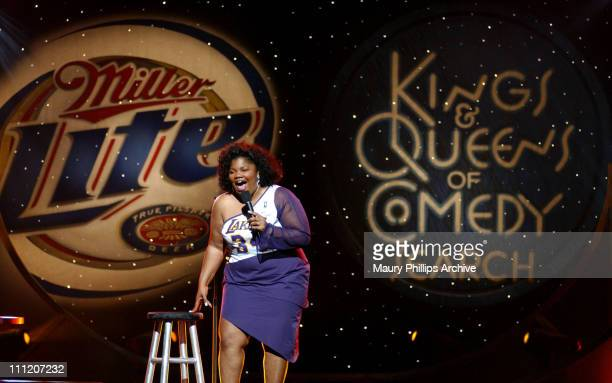 Mo'Nique during 'Kings Queens of Comedy Search' Hosted by Adele Givens Mo'Nique Sommore Show at Universal Amphitheatre in Universal City California...
