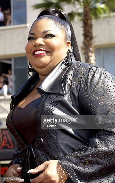 Mo'Nique during The 3rd Annual BET Awards Red Carpet at The Kodak Theater in Hollywood California United States