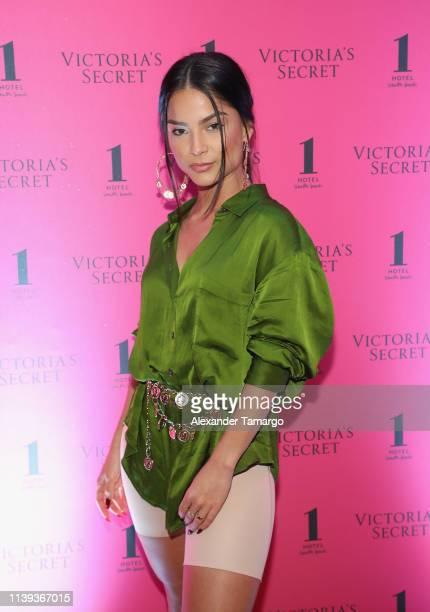 Monique Gonzalez attends Victoria's Secret The Incredible Tour on April 25 2019 in Miami Florida