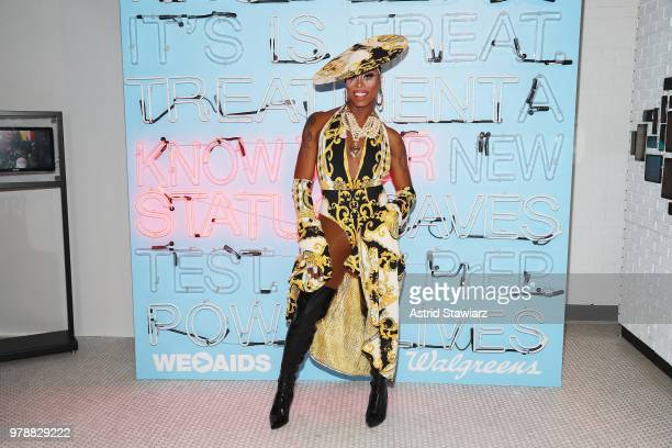 Monique Heart attends PRIDE PLACE at Samsung 837 Conversation with Cynthia Nixon on June 19 2018 in New York City