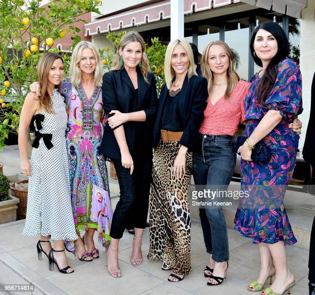 Monique Lhuillier Crystal Lourd Aerin Lauder Alexandra Von Furstenberg Jennifer Meyer and Estee Stanley attend Aerin Lauder Crystal Lourd and...
