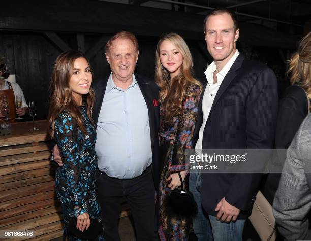 Monique Lhuillier Mike Medavoy Devon Aoki and James Bailey attend Gaggenau's Pop Up Restaurant 1693 Honoring Operation Smile on May 22 2018 in Los...